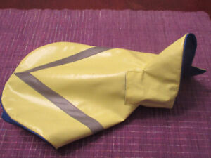 Bailey and Bella Reflective Yellow Raincoat. - Size XS