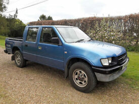 Isuzu TFS Double cab PickUp 3.1TD 2002 5spd.Owned by MODCyprus 13 yrs then me