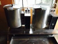 ***20QT COMMERCIAL SOUP BOILERS W/Stainless Stand***
