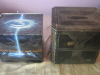 Halo 3 Collectors Helmet and Halo Reach Collectors Toy