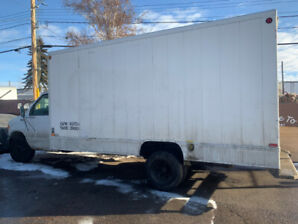 2003 Ford E-450 Cube Van, as well a 2008 E150 Delivery Van