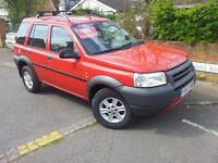 LEFT HAND DRIVE Land Rover Freelander 2001 LHD