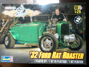 Revell 32 Ford Stacy David Rat Roadster