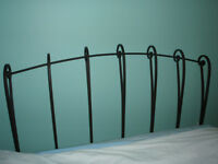 Solid Iron Headboard