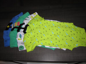 "Onesies,Baby Boy, size 6 month, ""Pekkle"" BNWT (4 onesies)REDUCED"