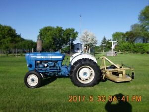 Tractor and Grooming Mower