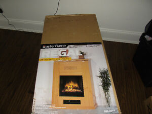 MasterFlame Regal Electric Fireplace:  NEW