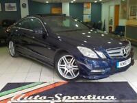 2012 Mercedes-Benz E Class 3.0 E350 CDI BlueEFFICIENCY Sport Blue 7G-Tronic 2dr