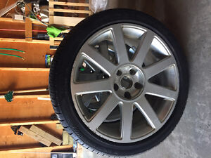 AUDI A6 summer rims and tires - will fit on 2007 and below