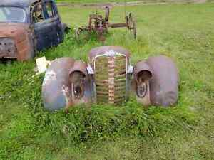 1936 dodge front clip and cab