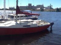 26foot C&C Redline Sailboat