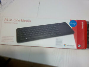 Microsoft All-In-One Wireless Media Keyboard New In The Box