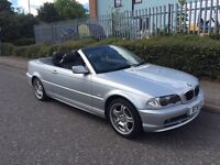***BMW 320CI CONVERTIBLE FULL SERVICE HISTORY FULL LEATHER LOVELY CAR*** £1290!