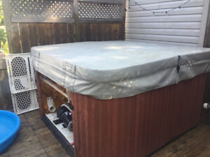 Older style Hot tub for trade