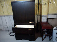 Bedroom Set - Queen Bed, Armoire and Night Stand