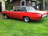 1962 Thunderbird Coupe project