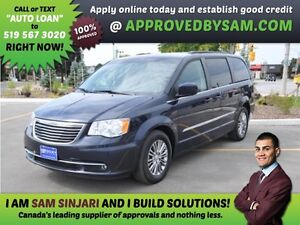TOWN & COUNTRY - APPLY WHEN READY TO BUY @ APPROVEDBYSAM.COM