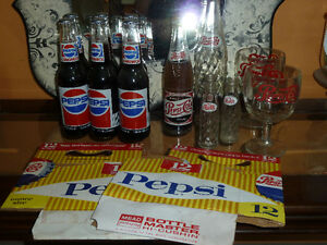 OLD pop/soda collection, lots unopened, original cardboard cases