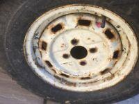 Tyre van/trailer tyre 175-13 8pr