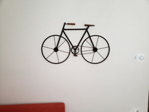 Wall Décor - Metal Bicycle