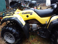 Looking to trade my 02 Foreman 450S for a sport bike