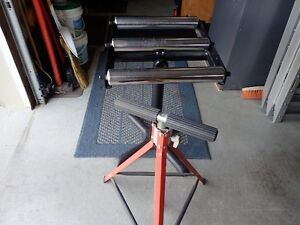 TWO ROLLER SUPPORT STANDS Stratford Kitchener Area image 1