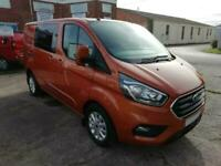 Ford Transit Custom 300 130ps Ltd L1 SWB DCIV Double Cab Van Crew