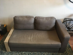 Ikea Manstad Sectional Sofa Bed with Storage