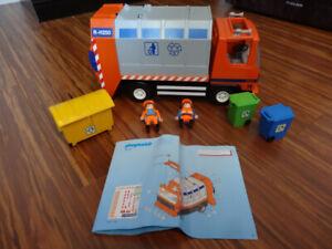 Camion de recyclage Playmobil 4418