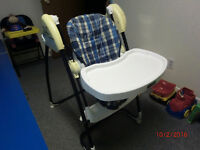 Chaise haute Fisher Price transformable