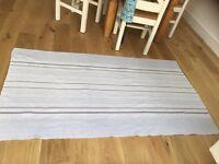John Lewis Coastal pale Blue Rug