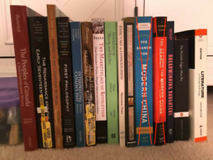 SELLING TEXTBOOKS - ALL PRICES NEGOTIABLE