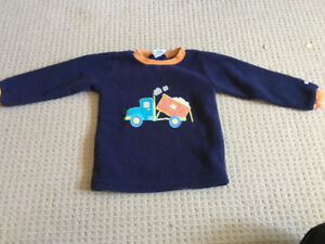 Boys 18-24 month fleece top