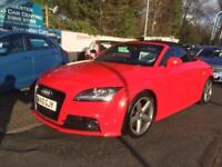 2010 Audi TT 2.0T FSI S Line 2dr [2011] 2 door Convertible