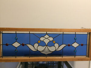 Beautiful, Perfect Condition Leaded Stained Glass