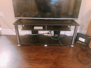 Moving sale - Good condition IKEA black TV bench