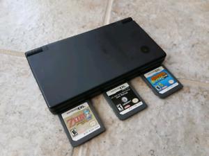 Black DSi + 3 Games