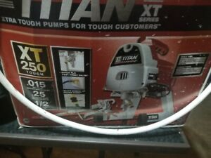 Selling TITAN XT250 High Performance AIRLESS SPRAYER Ex Cond