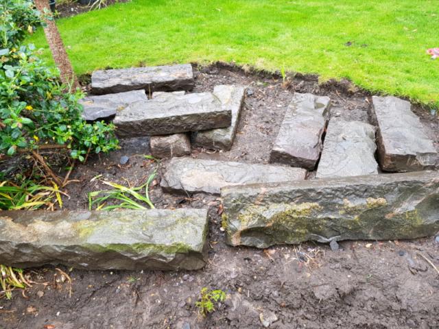 Natural Granite Curb Stones, landscaping garden stones   in Soham,  Cambridgeshire   Gumtree