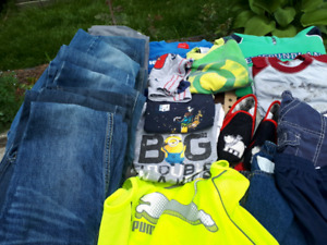Whole lot of boys kids clothes sizes 2-6x