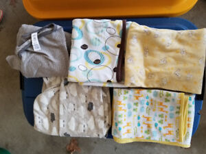 Baby Blankets - Lot A - Cotton