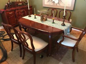 Antique Dining Room Set Buffet