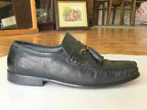 Awesome Brazilian Men's Dress Shoes (s.9) Natural Leather Boys