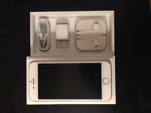 iPhone 6 - Silver - 16 GB - UNLOCKED - Like new in Box.