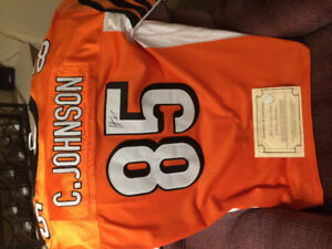 Chad Johnson signed jersey