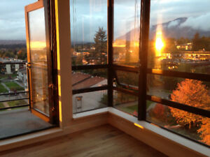 2BR/2Bath Condo Lower Lonsdale 10th Floor with views
