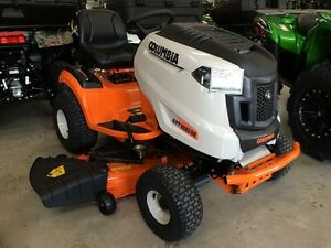 "Columbia Lawntractor 50"" cut, 0% financing and 3 years warranty"