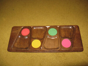 Wooden Serving Tray with Hot plate & 4 trays Edmonton Edmonton Area image 2