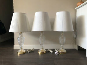 Lead Crystal Lamps