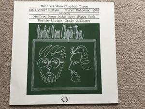 MANFRED MANN CHAPTER THREE - VOLUME ONE - VINYL RECORD